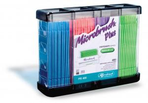 Aplikatory Microbrush Plus 400szt
