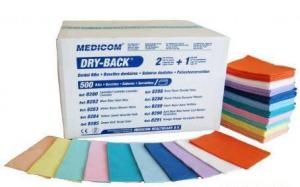 Serwety papierowo-foliowe Medicom 500szt