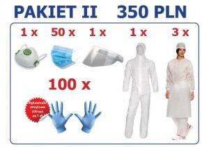 Produkty ochrony indywidualnej - Pakiet 2
